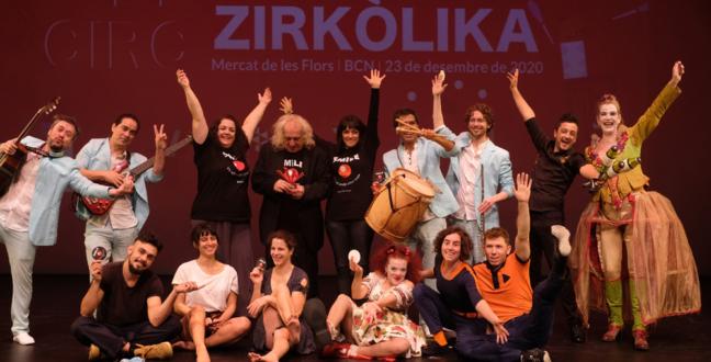 Alba Sarraute, la Producció Nacional de Circ i My!Laika, entre els guanyadors dels XI Premis Zirkòlika de Circ de Catalunya